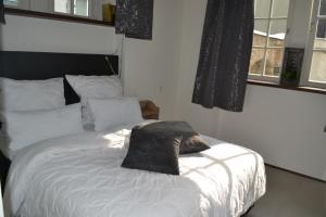 Ein Bett oder Betten in einem Zimmer der Unterkunft Anno 1609