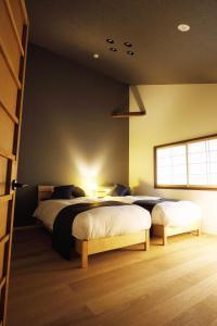 No.10 京都ハウスにあるベッド