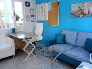 Гостиная зона в ApartHotel Papafotis
