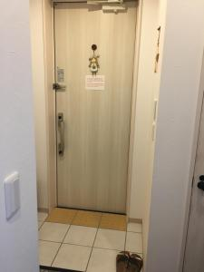 A bathroom at Shironoshita Guesthouse