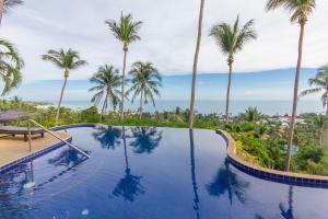 Swimmingpoolen hos eller tæt på Seaview Paradise Mountain Holiday Villas Resort