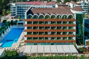 A view of the pool at Elite World Marmaris Hotel - Adult Only +14 or nearby