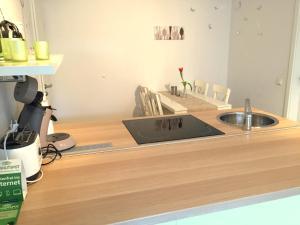 מטבח או מטבחון ב-Gästehaus Dolce Vita