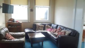 A seating area at Denton House