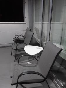 A balcony or terrace at Julia's Residence
