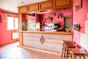 The lobby or reception area at Posada Rural La Sosiega