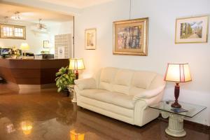 O zonă de relaxare la Hotel Ponte Bianco
