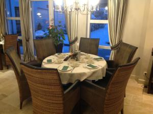 A restaurant or other place to eat at Hotel Eifelland