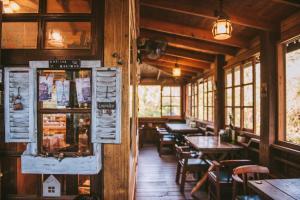 南庄橄欖樹咖啡民宿 餐廳或用餐的地方