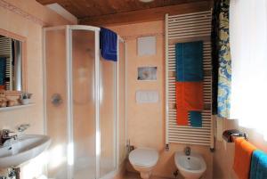 Ein Badezimmer in der Unterkunft Pension Mirandola