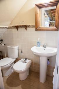 A bathroom at Casa Rural La Barquilla