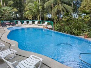 The swimming pool at or near Hotel La Diosa