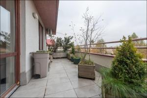 Balkon lub taras w obiekcie P&O Apartments Nowoursynowska