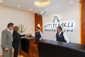 Hall ou réception de l'établissement Inti Punku Machupicchu Hotel & Suites