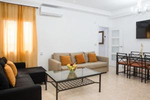 Zona de estar de APARTAMENT ATOCHA-MUSEUM-CUTE-DOWNTOWN