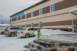 Mini Hotel Margobay during the winter