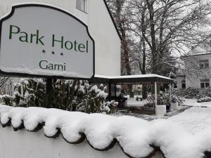 Park Hotel im Winter