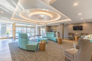 El vestíbulo o zona de recepción de Vittoria Hotel & Suites