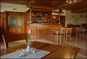 Lounge nebo bar v ubytování Penzion Starý dvůr