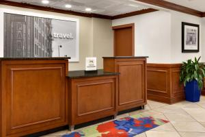 The lobby or reception area at Hampton Inn Columbia Downtown Historic District