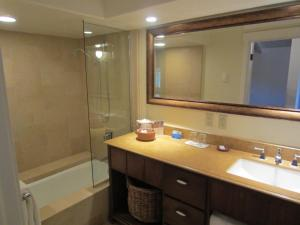 A bathroom at Hotel Pacific