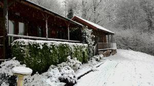 Ironbridge Lodge during the winter