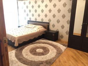 Cama ou camas em um quarto em Anadolu Apartment