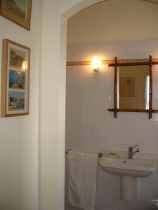 A bathroom at A camera di a vigna