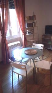 Area soggiorno di Appartamento Roma (Piazza Bologna)
