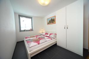 Postelja oz. postelje v sobi nastanitve Apartment Leposa