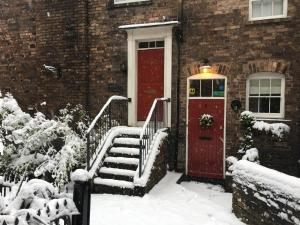 Ironbridge View Townhouse during the winter