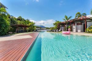The swimming pool at or near Blue Lagoon Lakeside Studio