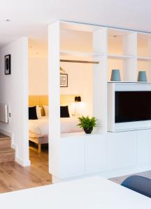A television and/or entertainment center at Hiding Space Westgate Apartments