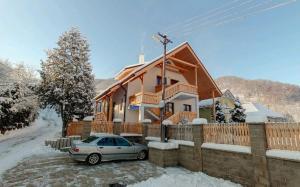 Rekreačný dom Vyhne v zime