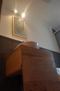 Una cocina o zona de cocina en Hostal Morocha
