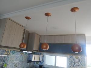 A kitchen or kitchenette at Apto em Ponta Negra
