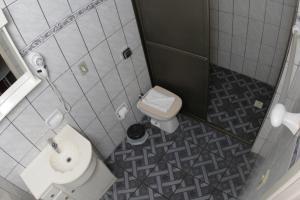A bathroom at Hotel Turella
