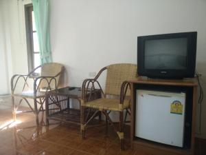 A television and/or entertainment center at Ao Nang Garden Home Resort