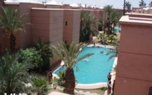 A view of the pool at Riad Naim or nearby