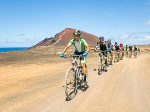 Biking at or in the surroundings of Club la Santa All sports inclusive