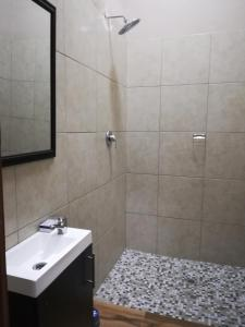 A bathroom at Angel Guest House