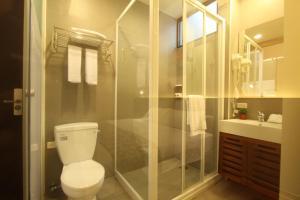 A bathroom at Hsin Kang 77villa