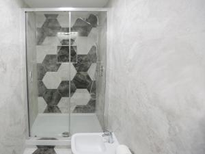 A bathroom at Santa Chiara Loft