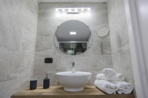 A bathroom at Santa Chiara Loft