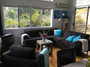 A seating area at Nelson Bay Bed & Breakfast