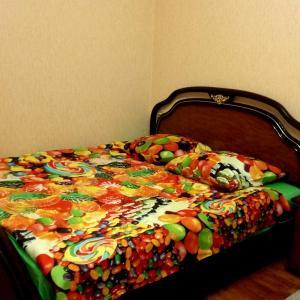 Кровать или кровати в номере Балашиха. Апартаменты на Твардовского (Академия РВСН)