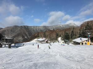 Pension Waltz during the winter