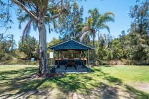 A garden outside Yamba by Gateway Lifestyle Holiday Parks