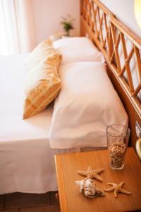 Letto o letti in una camera di Hotel Doge