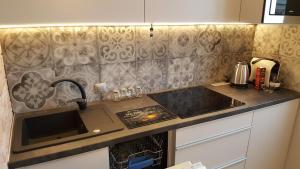 Kuchnia lub aneks kuchenny w obiekcie Studio Centrum Ratusz